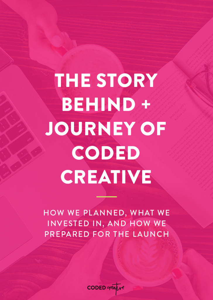 Launching a whole new business is kind of scary and overwhelming, so we are sharing with you exactly how we did it together.
