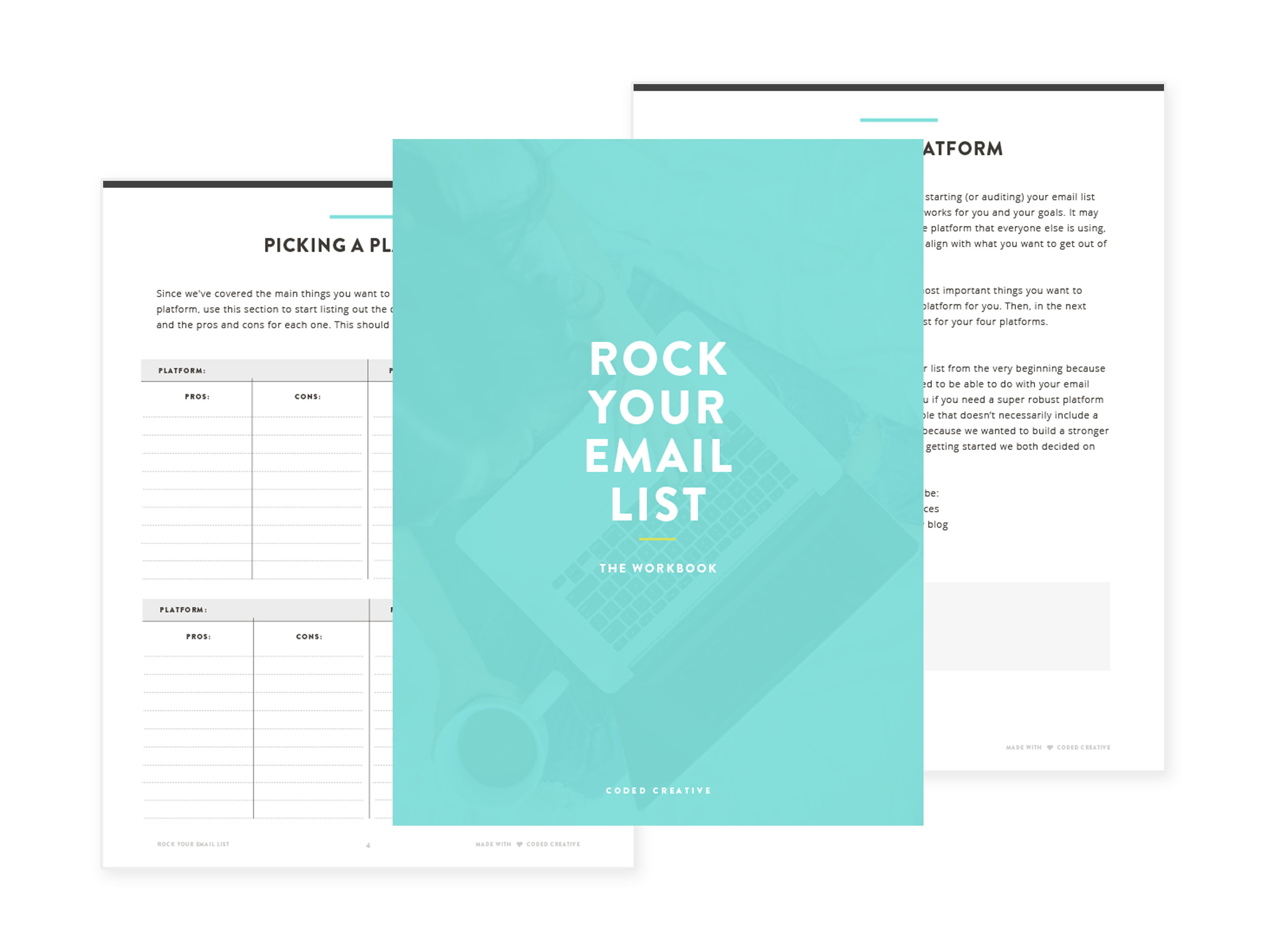 Rock Your Email List Workbook