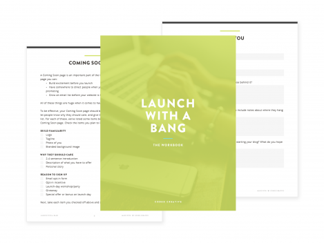 Launch With A Bang Workbook