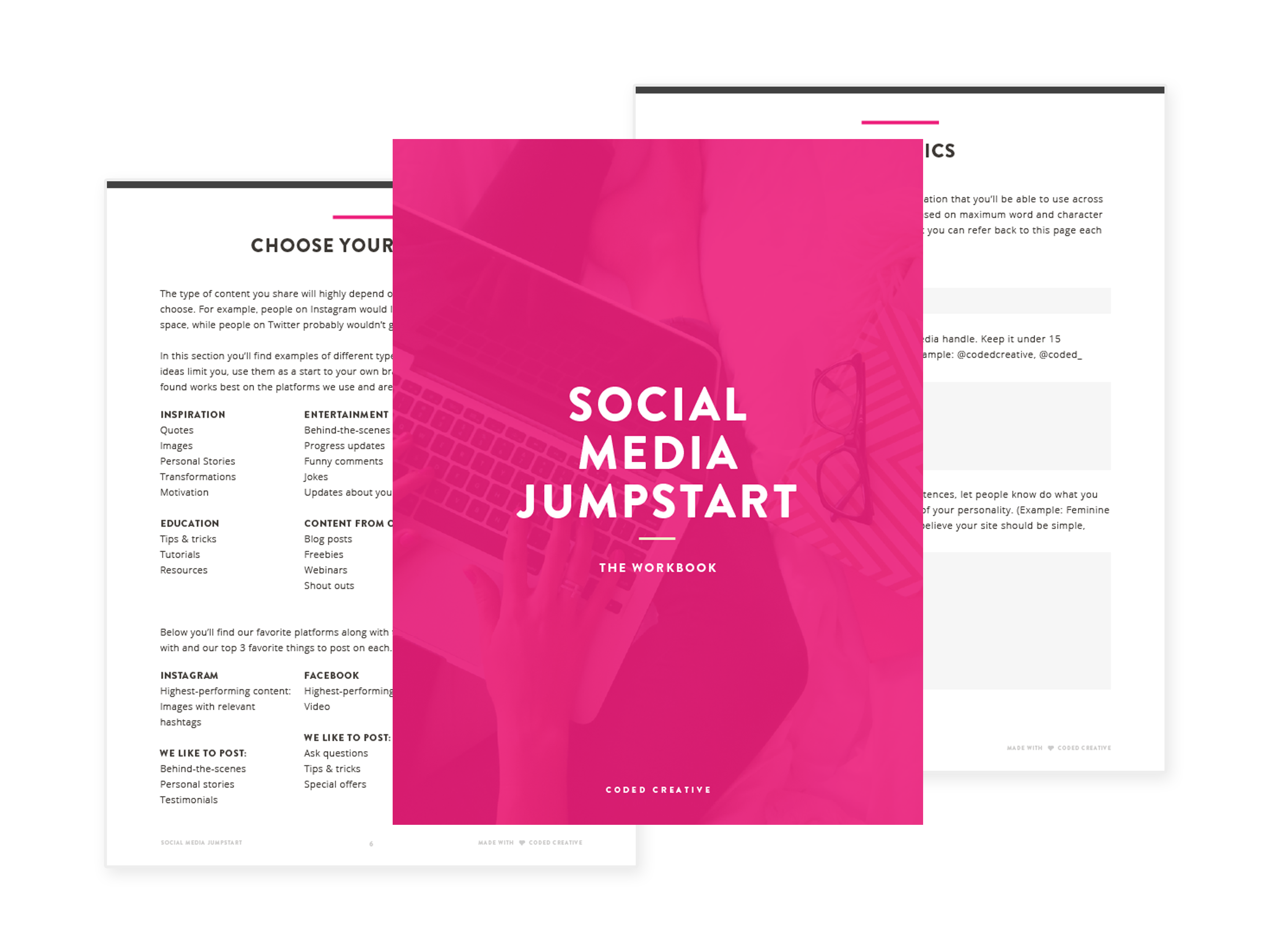 Social Media Jumpstart Workbook