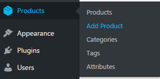 WooCommerce add product