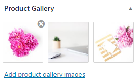 WooCommerce image gallery