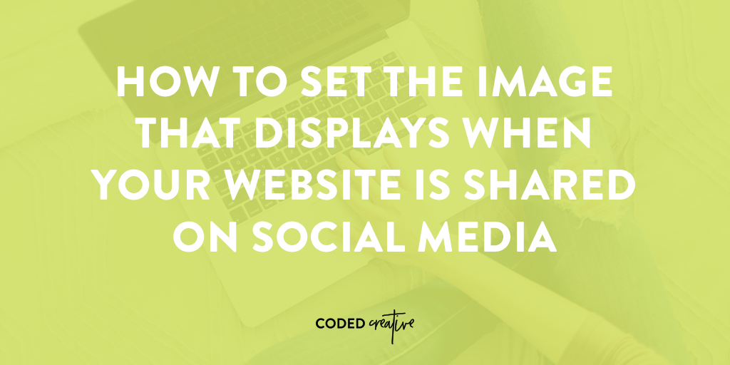 Learn to set the image that displays when your posts or pages are shared on social media