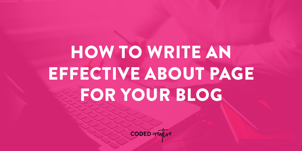 Writing your About page is probably one of the hardest things you'll do for your website. Instead of struggling, click through to read where most people go wrong and what to include to make yours right.