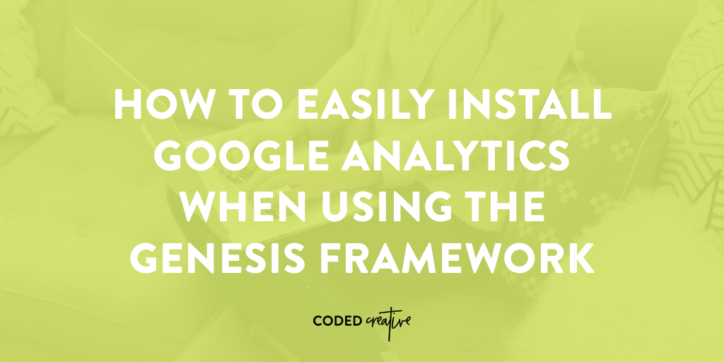 Start tracking your blog's analytics after easily installing Google Analytics with this tutorial