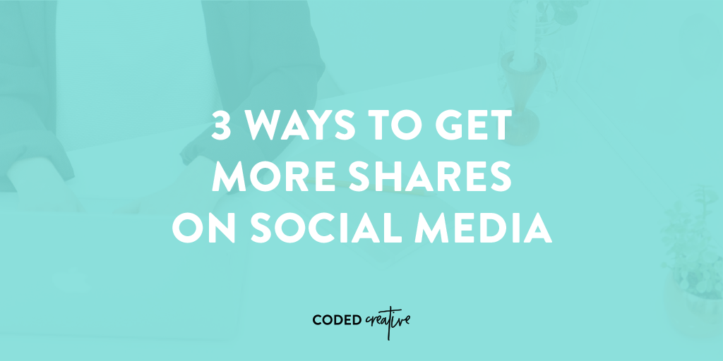 Through our various blogs and businesses, we've experimented with increasing the number of social shares we get quite a bit, so today we'll go over 3 ways to get more shares on social media.