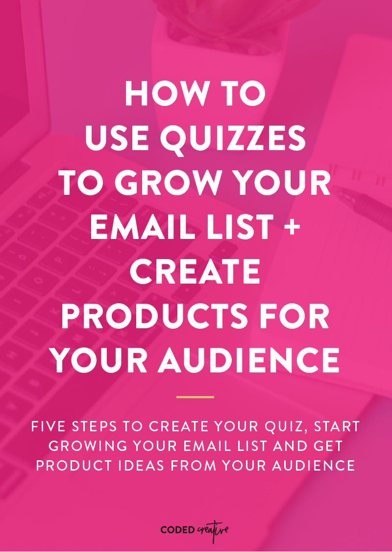 Grow Your Email List Get Ideas For Products With The Help Of Quizzes