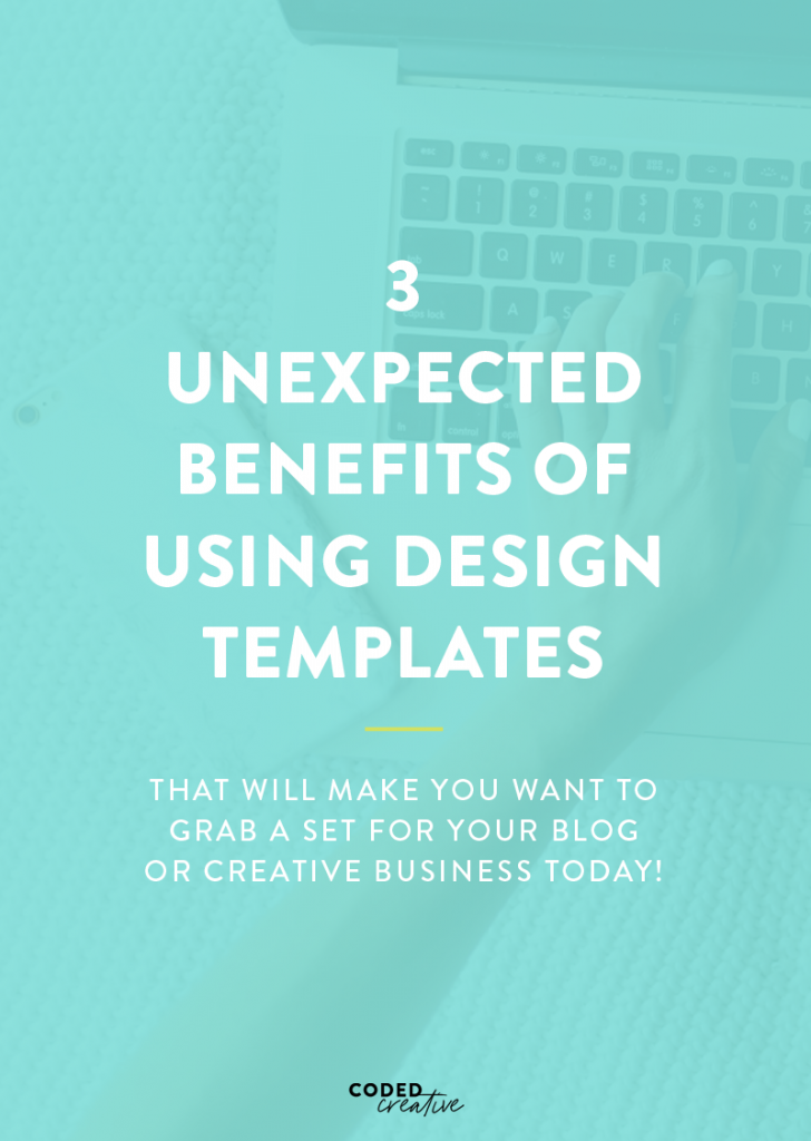 While there are a ton of obvious reasons for using design templates to create graphics for your content, there are a few that aren't quite as expected. Click through to see 3 surprising benefits of using Pinterest templates for your brand!