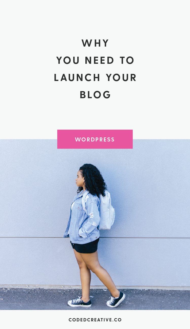 You don't have to look too hard to find someone on social media bummed about a launch that didn't go as planned. Here's why you need to launch your blog.