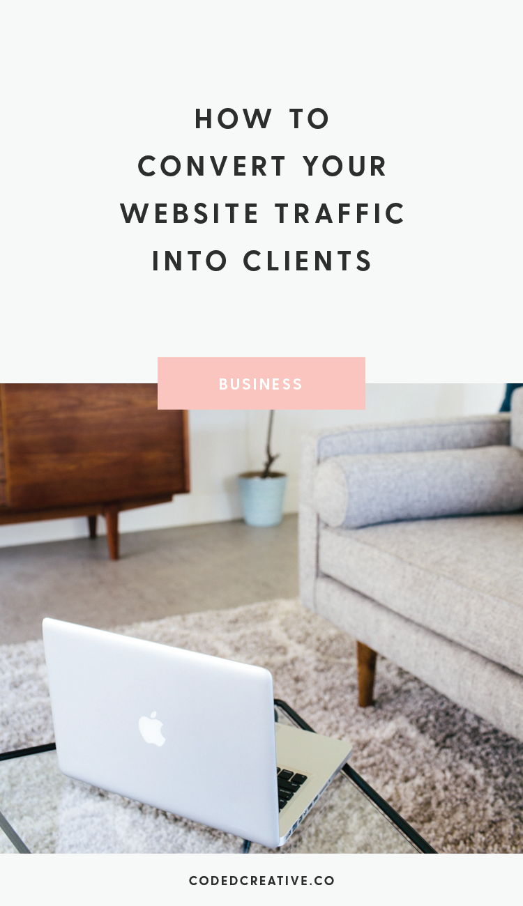 Your website is your ultimate home base on the internet, so it should be converting your traffic into clients. In this post I cover how to do exactly that.