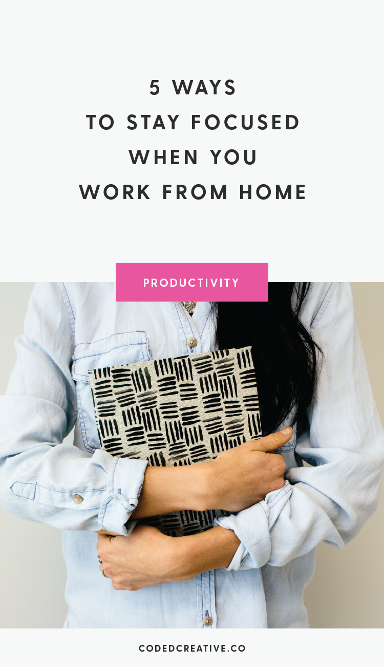 It's important that you have the tools and discipline you need to stay focused whether it's for 30-minutes per day or 8 hours per day. Today, we'll go over 5 ways to stay focused when you work from home.