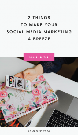 Use these two secret weapons to make your social media marketing easier on yourself and keep your audience interested in your content.