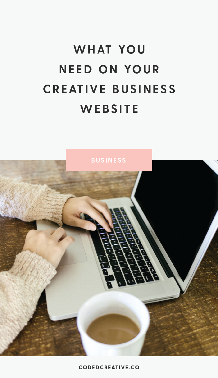 To give you a hand with your business' website, today we'll go over what you need on your creative business website to get off to a strong start.