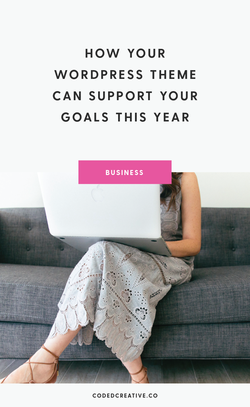 Your website is a key factor in growing your business, so the WordPress theme you use should support your goals and make it easier to accomplish them. Here's how yow to make sure your WordPress theme is supporting your goals this year.