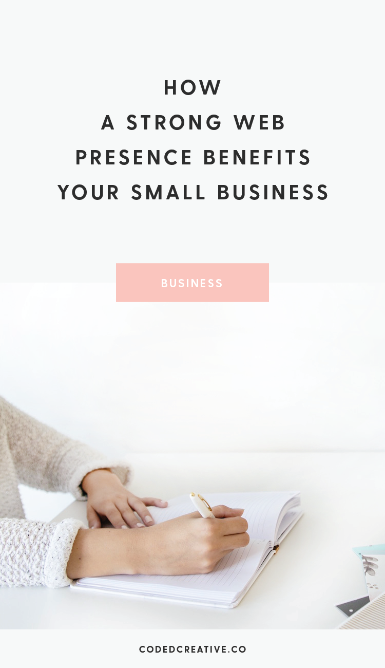 Anyone who has put time and effort into building a strong web presence can speak to how beneficial it is. Here are 5 ways it'll benefit your business.
