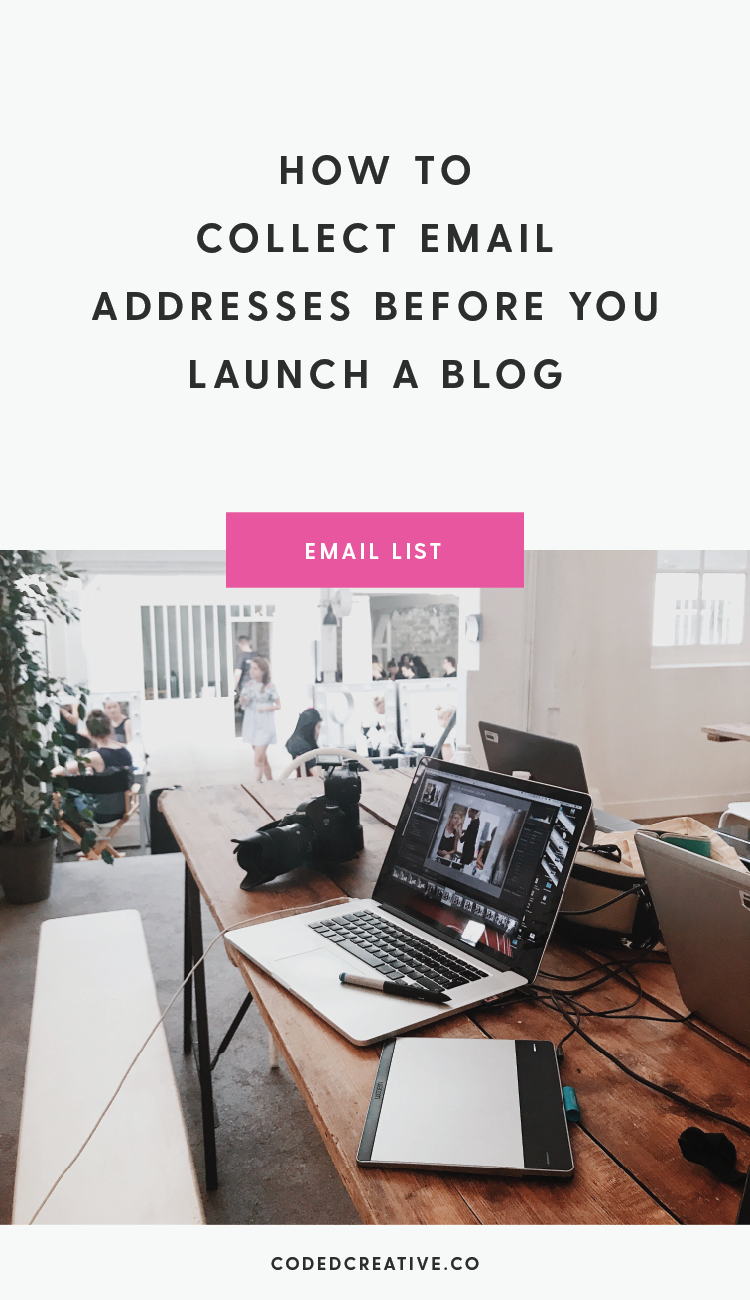Preparing to launch a new blog or business is super exciting. Luckily, it's easy to set up a Coming Soon page to collect email addresses before you launch!